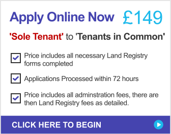 Sole Owner to Tenants In Common - Apply Online Today